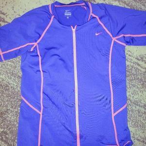 Nike Dri Fit Zip Up jacket